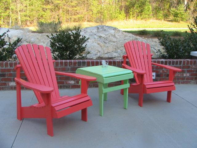 Painted Adirondack Chair